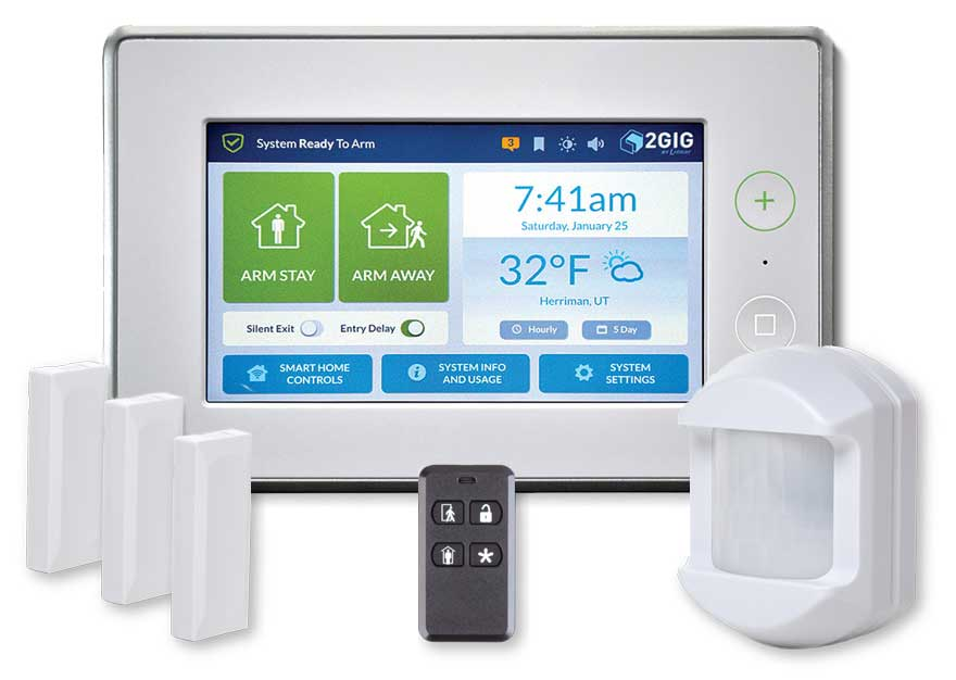 2GIG Home Security System with Home Automation